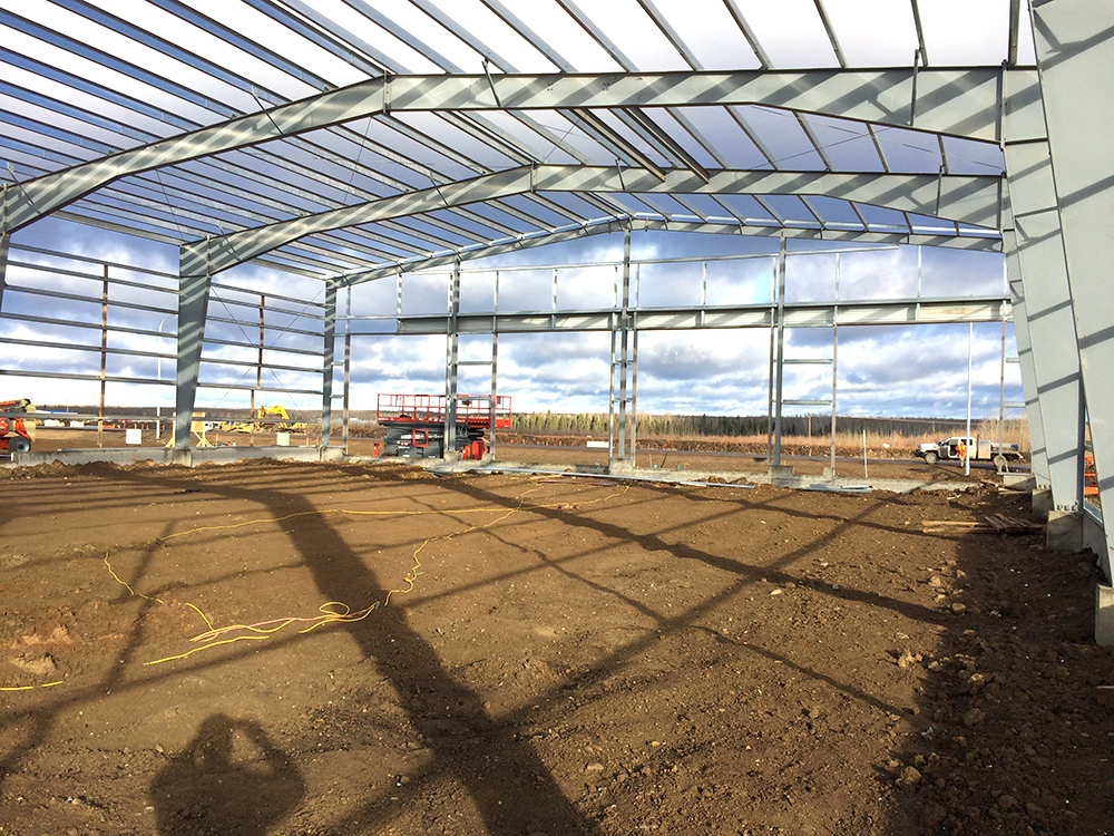 Foundations and Grade Beams for Steel Buildings